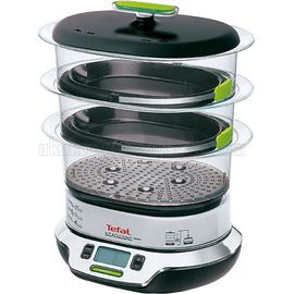 Tefal VitaCuisine Compact Buharlı Pişirici, Renk : Siyah