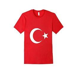 Ay Yıldız Türk Bayraklı Kırmızı T-shirt Xlarge Beden, Beden : XL/REG