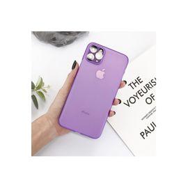 Iphone 11 Pro Wing Eko Serisi Ince Silikon Kılıf, Renk : Mor, Boyut: 3