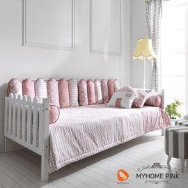 Soft Baby My Home Montessori Uyku Seti 90x190 Pink