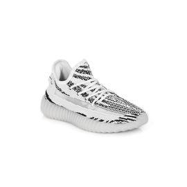 Unisex Beyaz Koşu Antrenman ve Yürüyüş Ayakkabısı, Renk : Zebra Siyah-Beyaz, Numara: 40