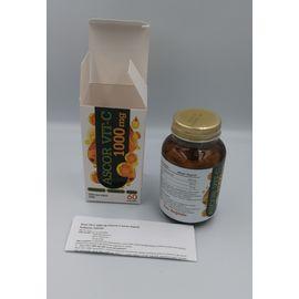 Ascor Vitamin C 1000 mg 60 Kapsül Takviye Edici Gıda + Hediye