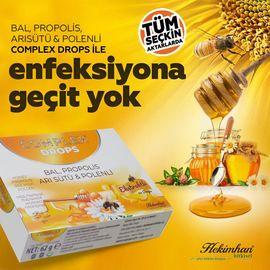 Hekimhan Bal Polen Propolis Arı Sütü & Polenli Drops