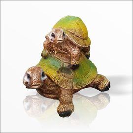 Büyük Ebat Dış Mekan İç Mekan Detaylı Kaplumbağa Biblo Heykel