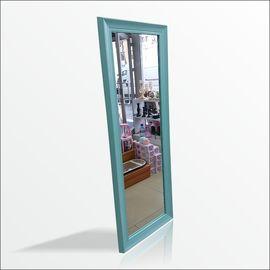 110cm Boy Turkuaz Mavi Çerçeve Boy Koridor Soyunma Kabini Aynası