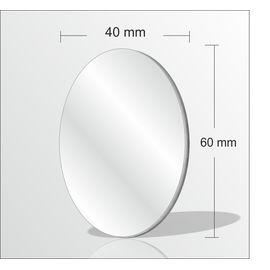 Arkası Yapışkanlı 3mm Kaş Kirpik Yüz Bakım Makyaj Aynası