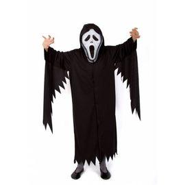 Yetişkin Kostümü - Yetişkin Çığlık Kostümü + Çığlık Maskesi - Cadılar Bayramı Kostümü, Beden : M