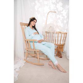 Kadın Lohusa Hamile Pijama Takımı 16017, Beden (anne): M