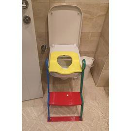Çocuk Tuvalet Alıştırıcısı, Çocuk Klozeti, Tuvalet Eğitim Aparatı, Çocuk Klozet Kapağı Adaptörü