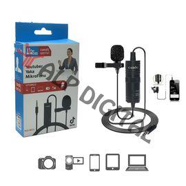 İphone Cep Telefonu İçin Tekli Yaka Mikrofonu 6m Candc Pdx