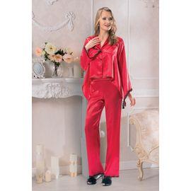 Pijama Takım 2001, Beden: XL, Renk : Kırmızı