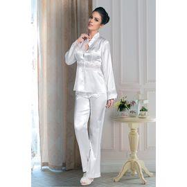Pijama Takım, Beden: XL, Renk : Beyaz
