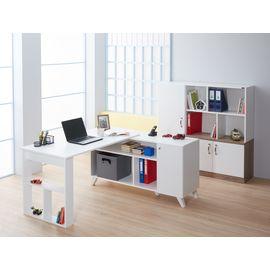 adetto Olivin Ofis Çalışma Masası Beyaz