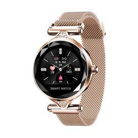 H1 Ip-67 Bluetooth Lu Bayan Akıllı Saat Tüm Telefonlara Uyumlu, Renk : NoColor-4fc4570a