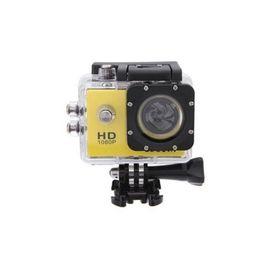 Hd 1080p Aksiyon Kamerası Suya Dayanıklı Digital Ekranlı Sarı, Renk : NoColor-5acc8822