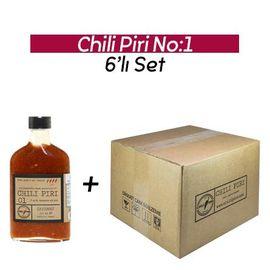 Chili Piri Fermante Acı Sos No:1 - 200 ml x 6 Adet