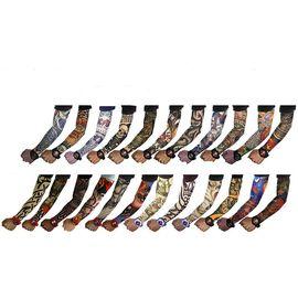 Giyilebilir Dövme Tatto Sleeves Çorap Dövme 2 Adet
