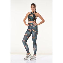 Kadın Spor Tayt Takım Rnldry10531, Beden : S/M, Renk : Görsel Rengi