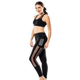Kadın Spor Tayt Takım - Rnldry10540, Beden : L/XL, Renk : Siyah