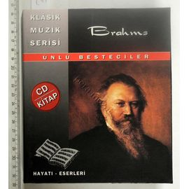 Kitap - Brahms (cd Hdiyeli)