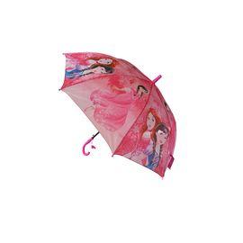 Çocuk Şemsiyesi Pembe Örgülü Kız