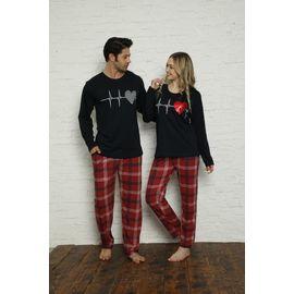 Erkek Kısa Kol Pijama Takımı Lacivert 9203, Beden: XXL, Renk : Lacivert