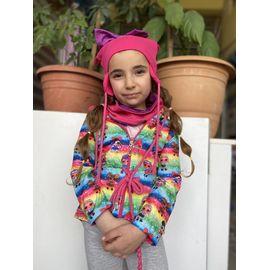 Kız Çocuk Mont 2210, Beden : 3-4 Yaş, Yaka : KARIŞIK