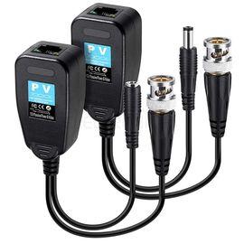 Pm-3898pv Bnc To Rj45 Vıdeo Balun + Power Konnektör
