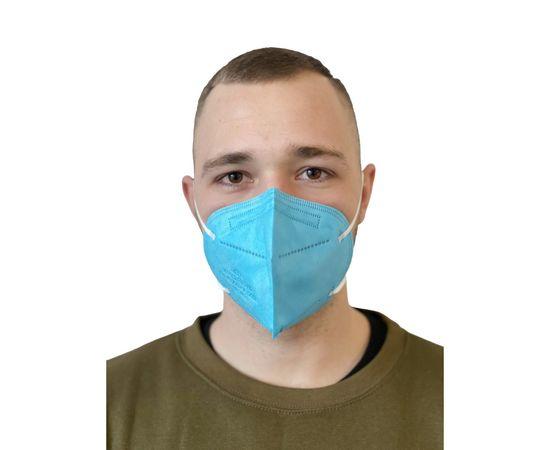 AngelMask Yetişkin Turkuaz Renkli FFP2 N95 Maske 10'lu Kutu