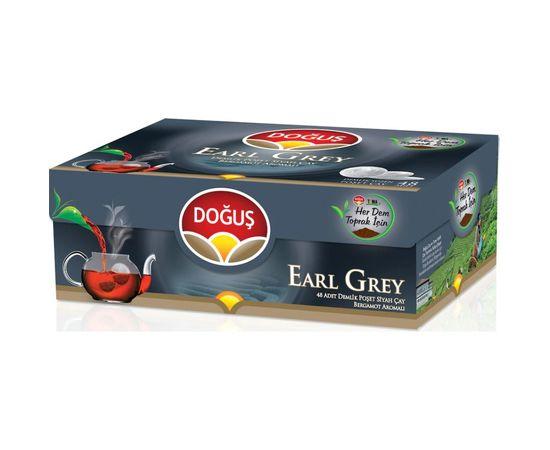 Doğuş Earl Grey Bergamot Aromalı Siyah Süzen Demlik Poşet Çay 48 x 3.2 G